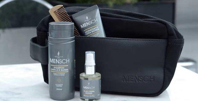 d3af236a5f Mensch chega ao mercado com linha de cosméticos masculinos | 2A+ ...