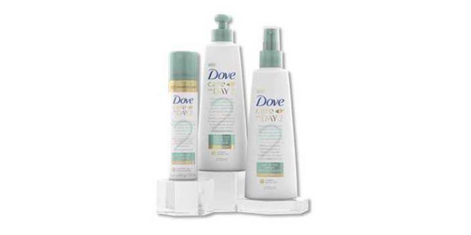 Dove lança linha completa para cabelos