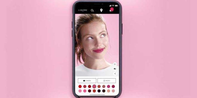 Lancôme promove experiência de realidade aumentada com Virtual Make-Up