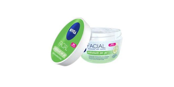 NIVEA Brasil inova com o lançamento de seu primeiro hidratante facial em gel