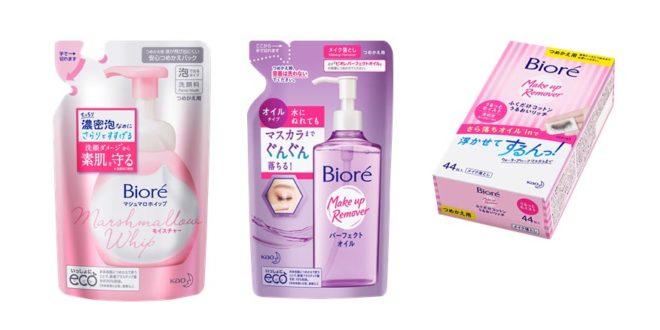 Bioré apresenta embalagens mais sustentáveis com refis para os produtos