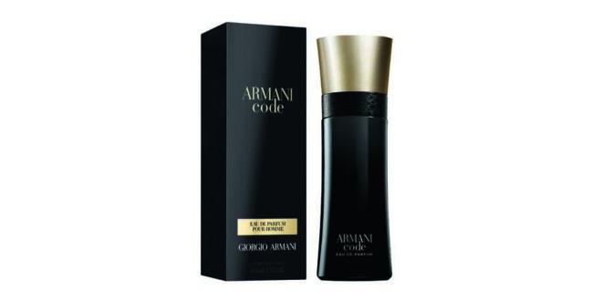 Armani Code eau de parfum, de Giorgio Armani, chega ao Brasil
